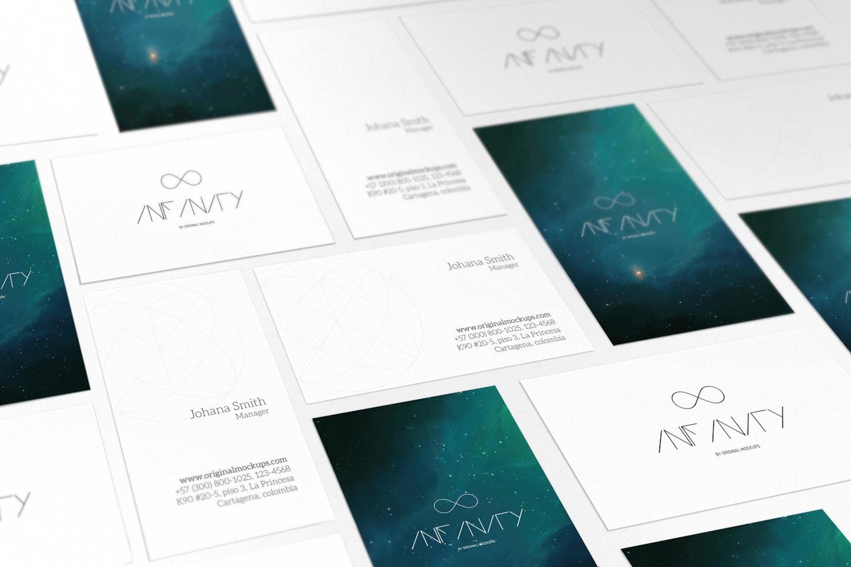 Business Card Mockup 7