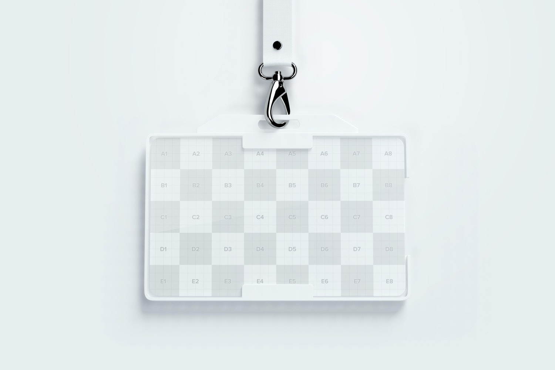 Horizontal ID Card Mockup 01