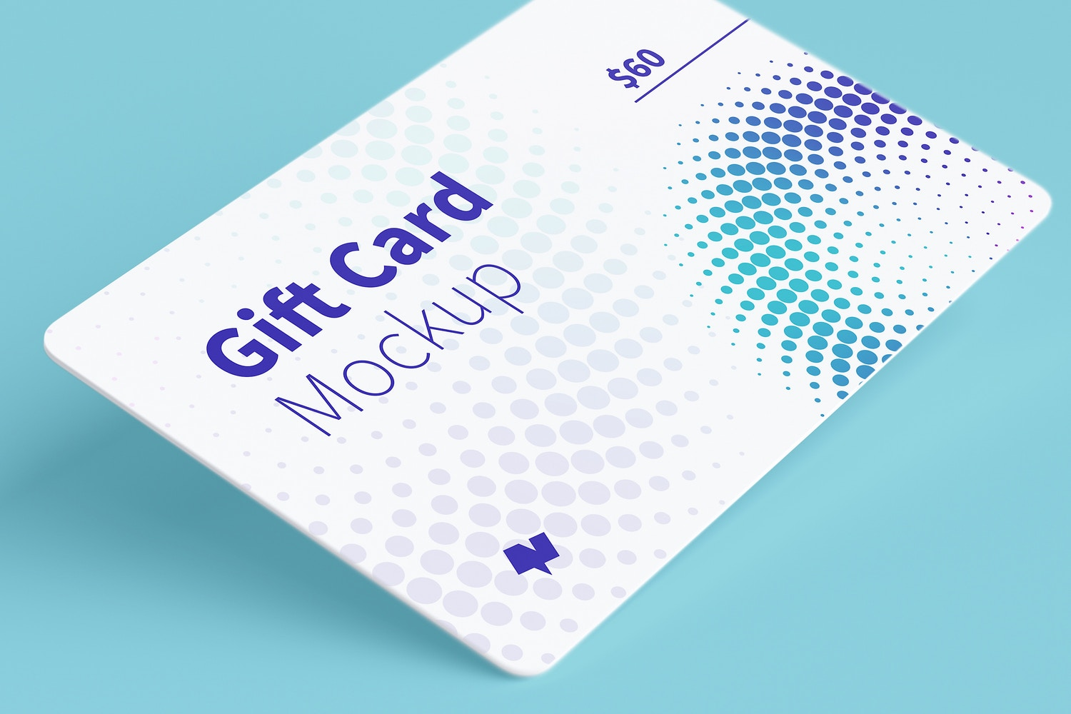 Gift Card Mockup 07 (4) by Original Mockups on Original Mockups