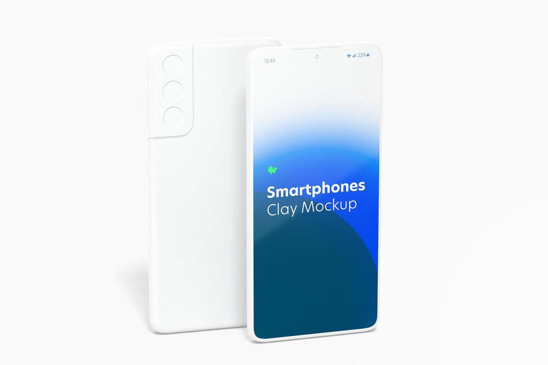 Maqueta de Samsung S21 Multicolor