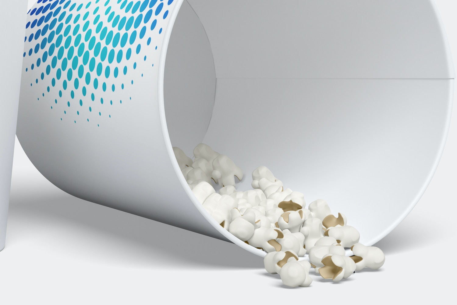 Oops! You're running out of popcorn.