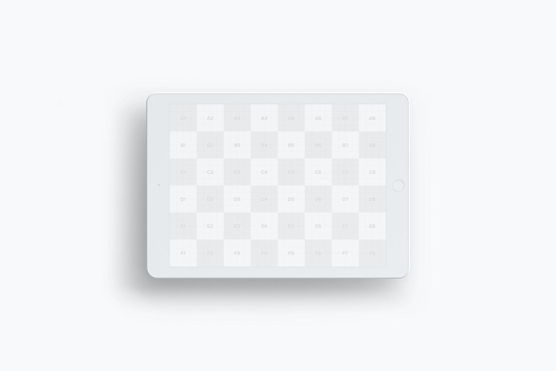 Clay iPad 9.7 Mockup 04