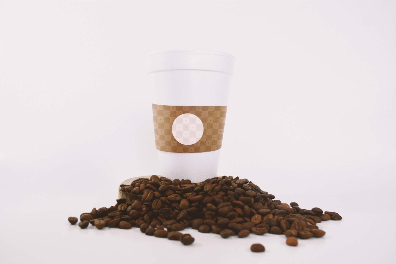 Large Coffee Cup Mockup