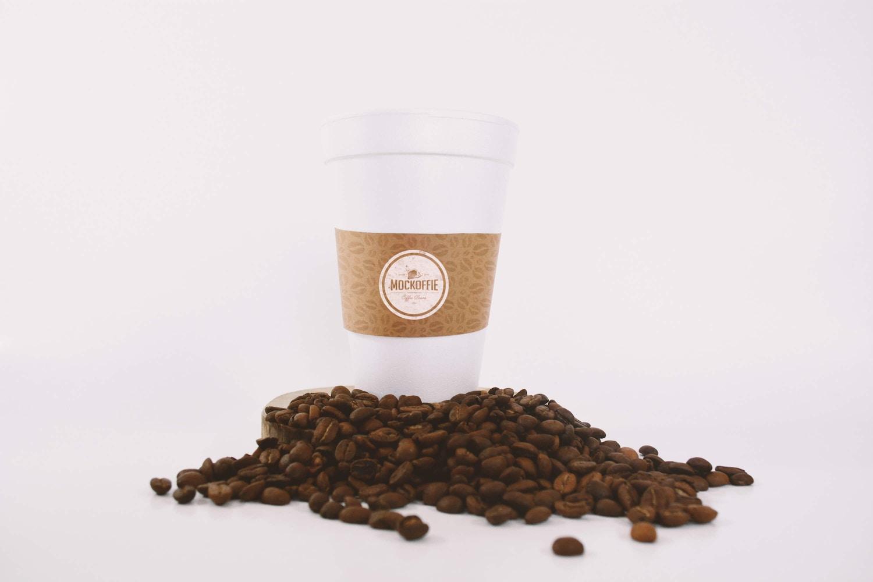 Large Coffee Cup Mockup (1) by Eduardo Mejia on Original Mockups