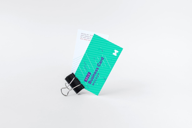 Business Card Mockup 10 by Original Mockups on Original Mockups