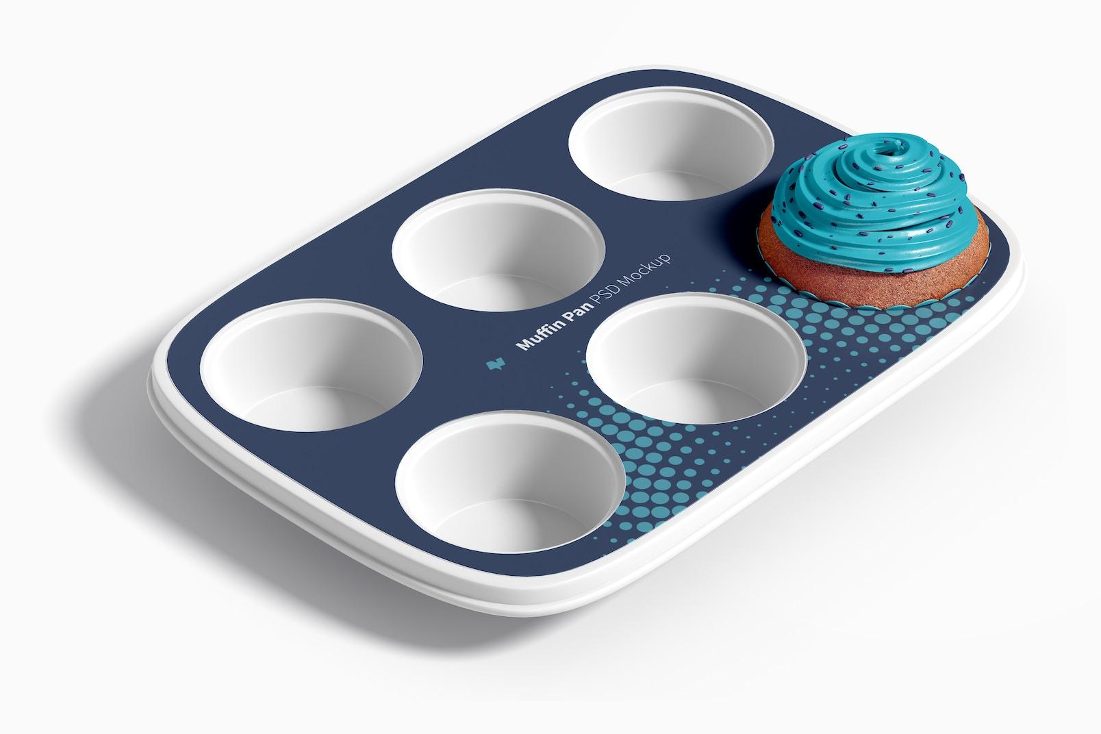 Maqueta de Bandeja para Muffins