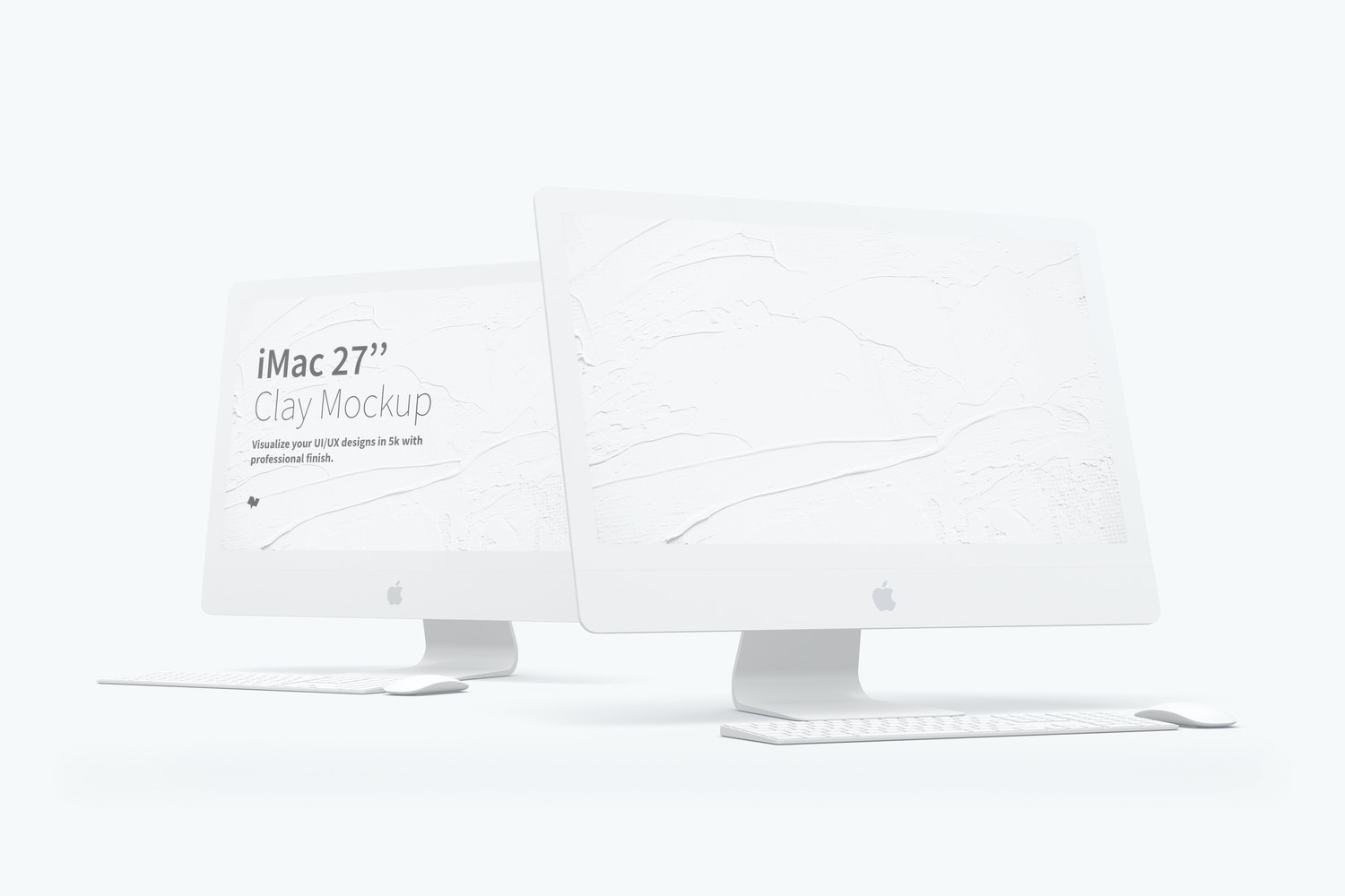 "Clay iMac 27"" Mockup by Original Mockups on Original Mockups"