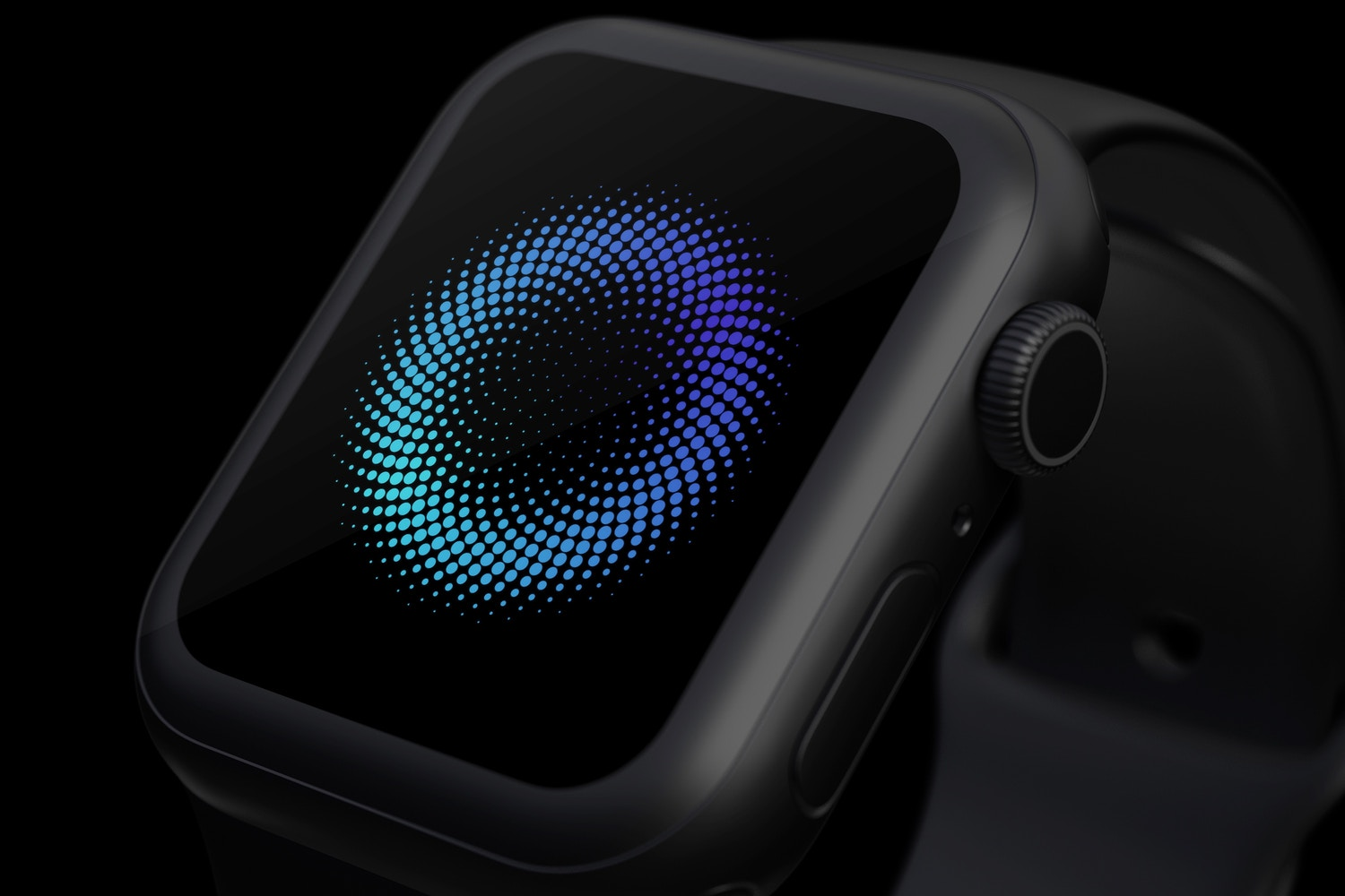 Clay Apple Watch Series 4 (44mm) Mockup, Close up (3) by Original Mockups on Original Mockups