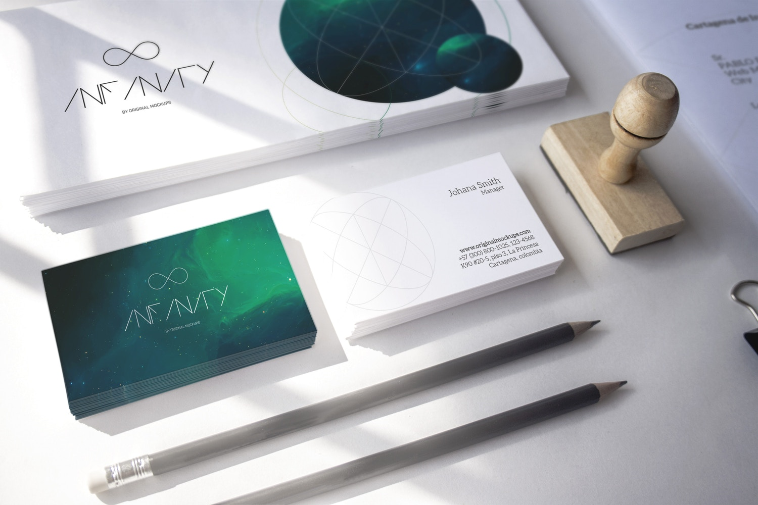 Stationery Mockup 8 by Original Mockups on Original Mockups