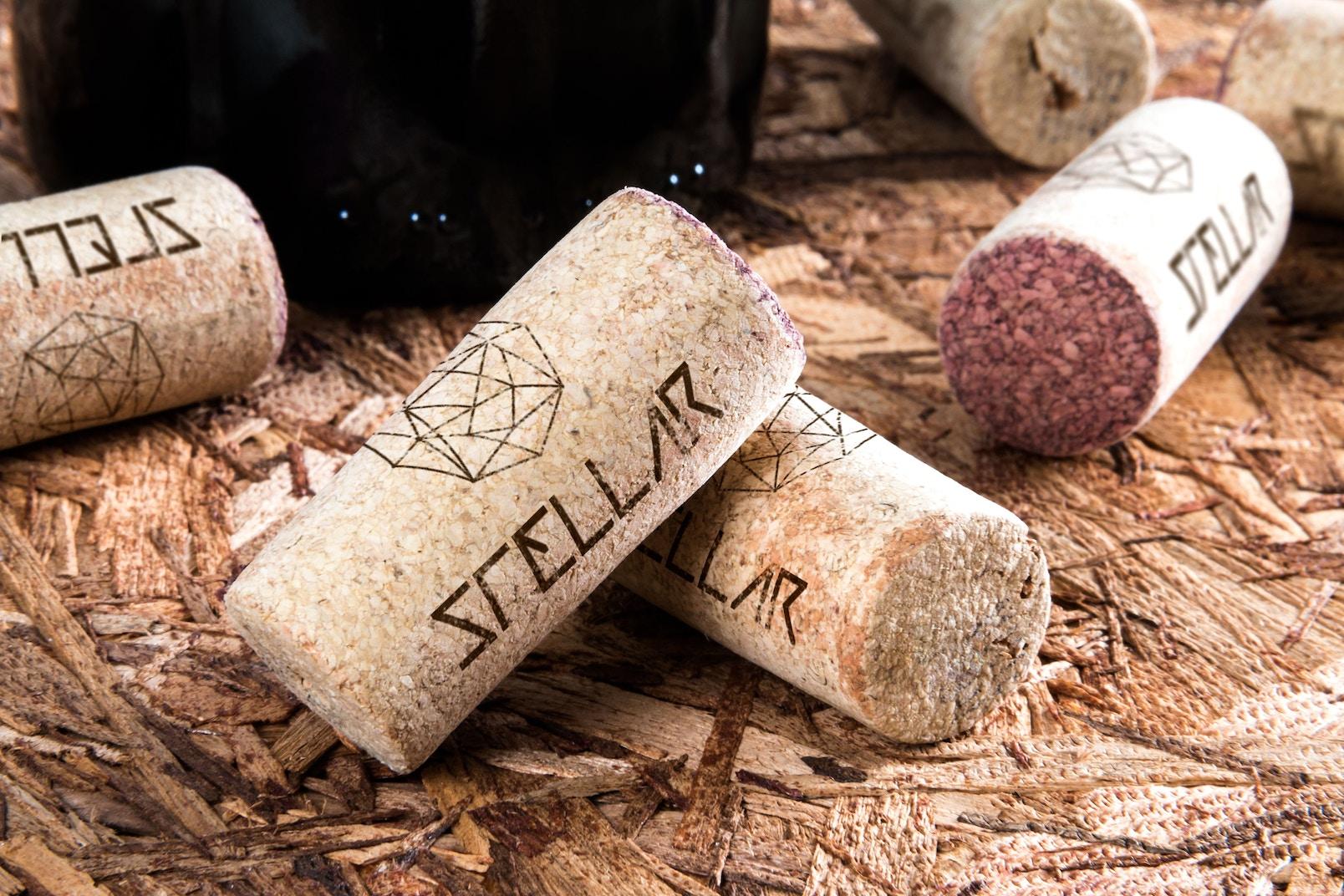 Maqueta de Corchos de Vino