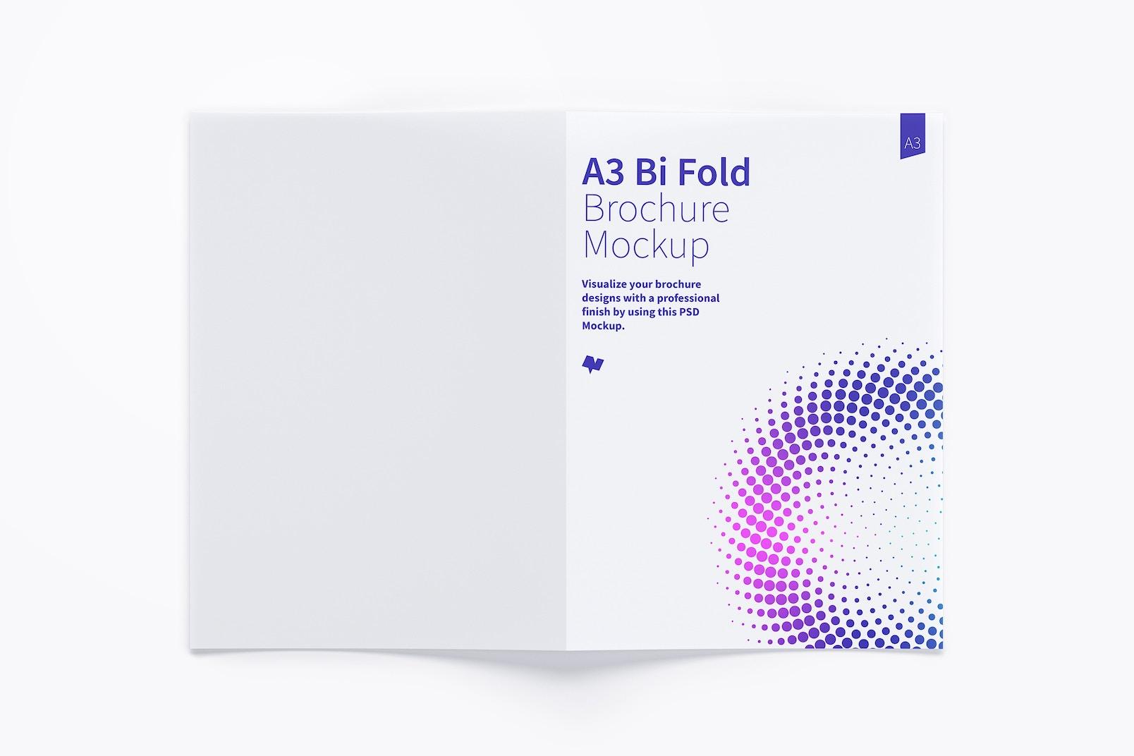 A3 Bi Fold Brochure Mockup 02