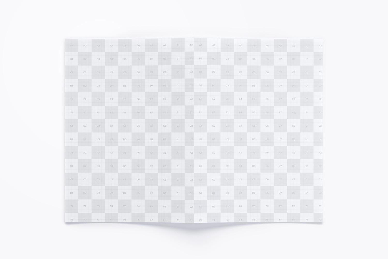 A3 Bi Fold Brochure Mockup 02 (4) by Original Mockups on Original Mockups
