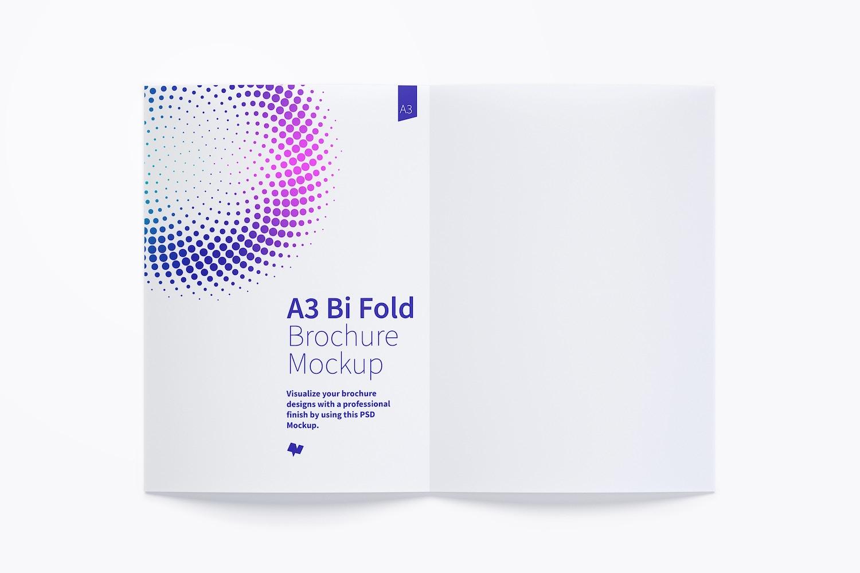 A3 Bi Fold Brochure Mockup 02 (2) by Original Mockups on Original Mockups