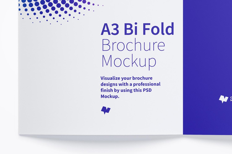 A3 Bi Fold Brochure Mockup 02 (5) by Original Mockups on Original Mockups
