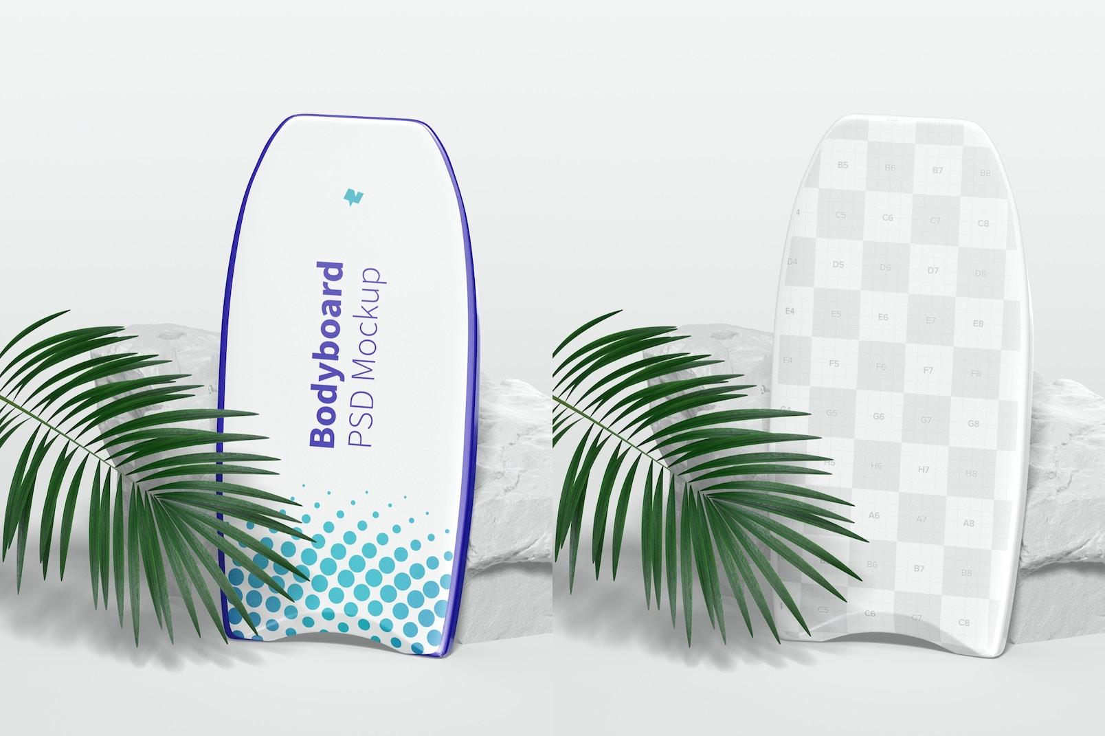 Bodyboard Mockup