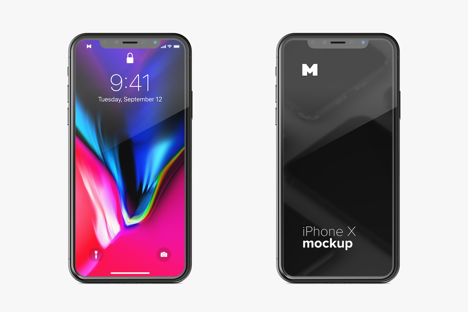 Free iPhone X Mockup 01 by Original Mockups on Original Mockups