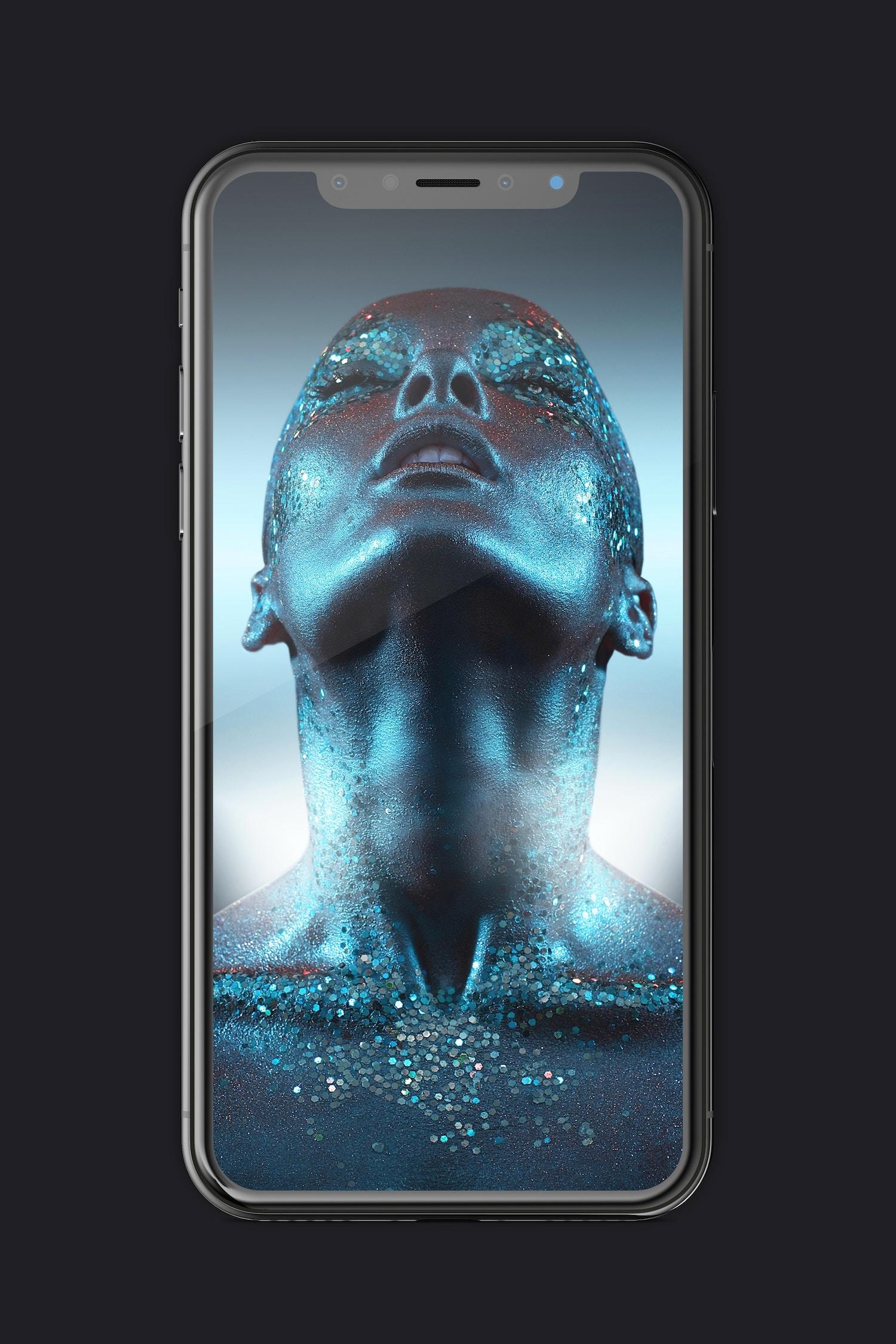 Free iPhone X Mockup 01