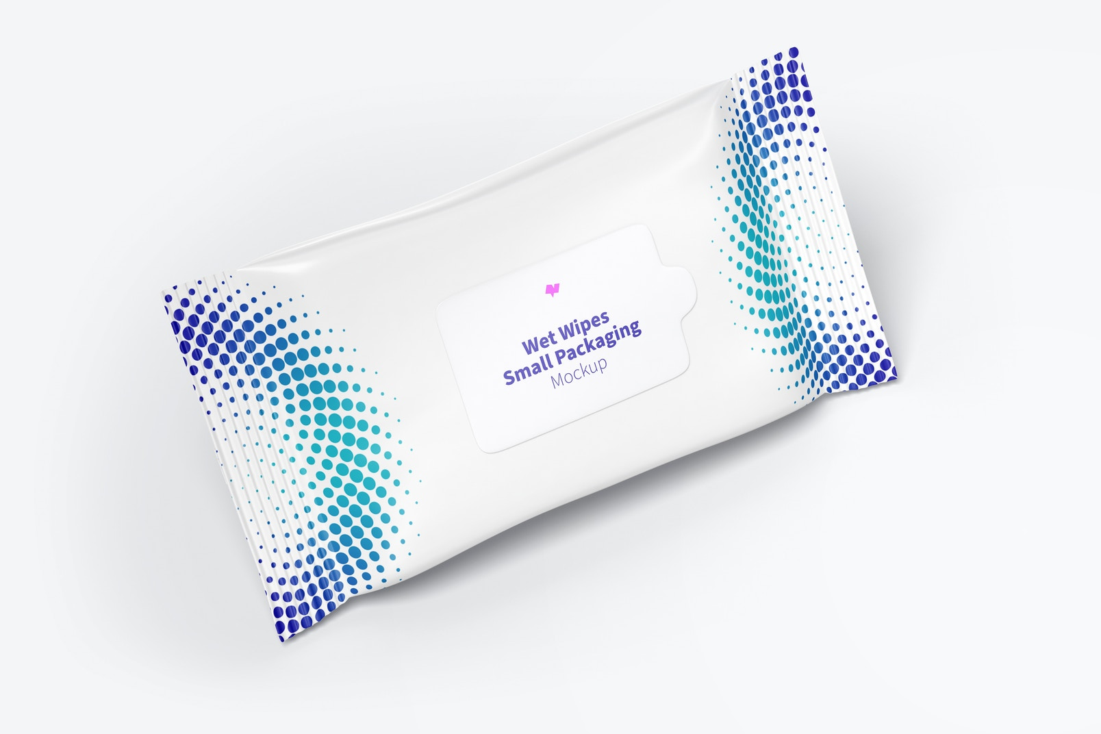 Wet Wipes Small Packaging Mockup