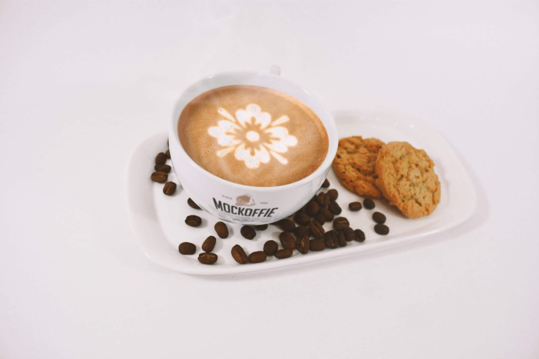 Latte Coffee Art Mockup (1) by Eduardo Mejia on Original Mockups