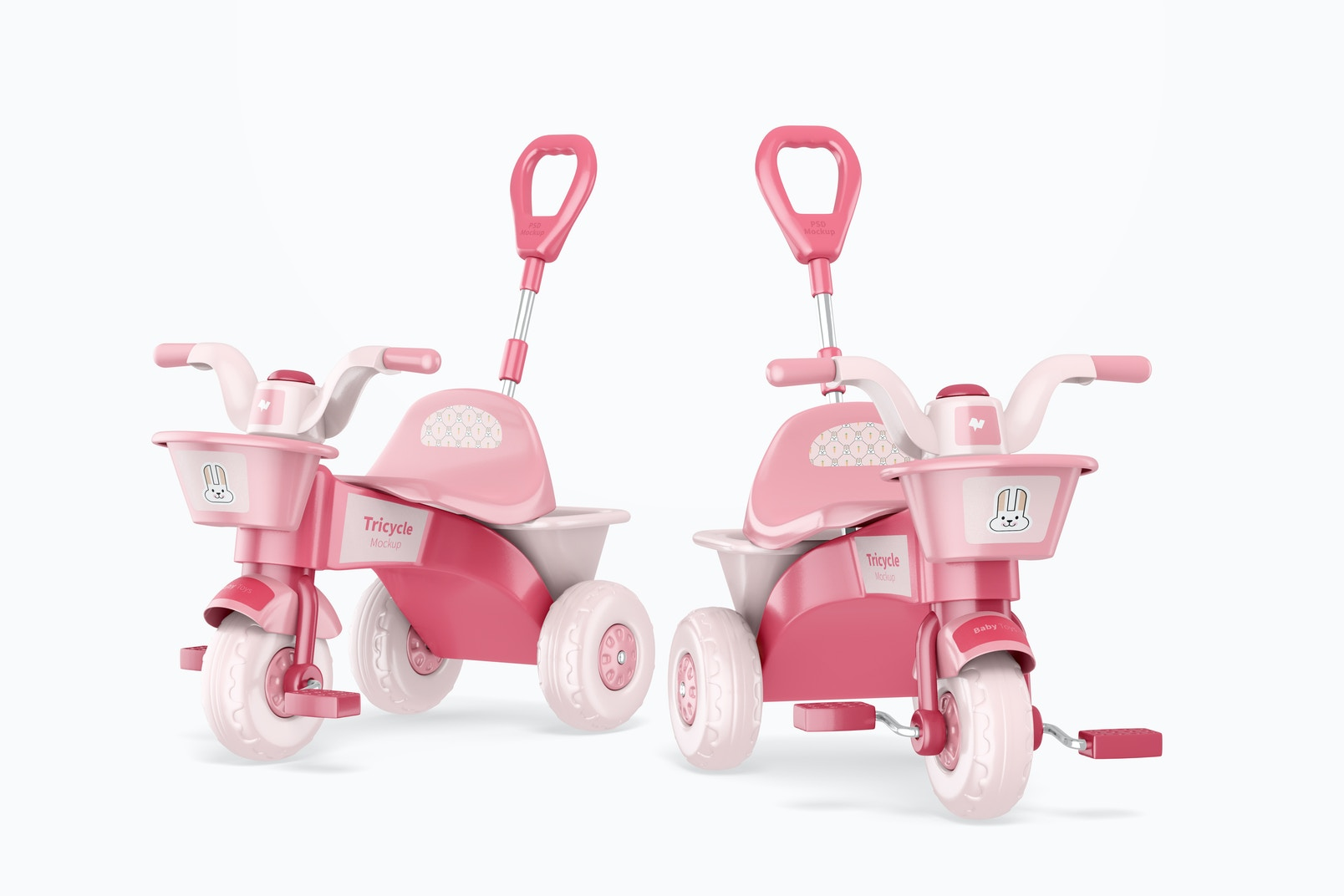 Tricycles Mockup