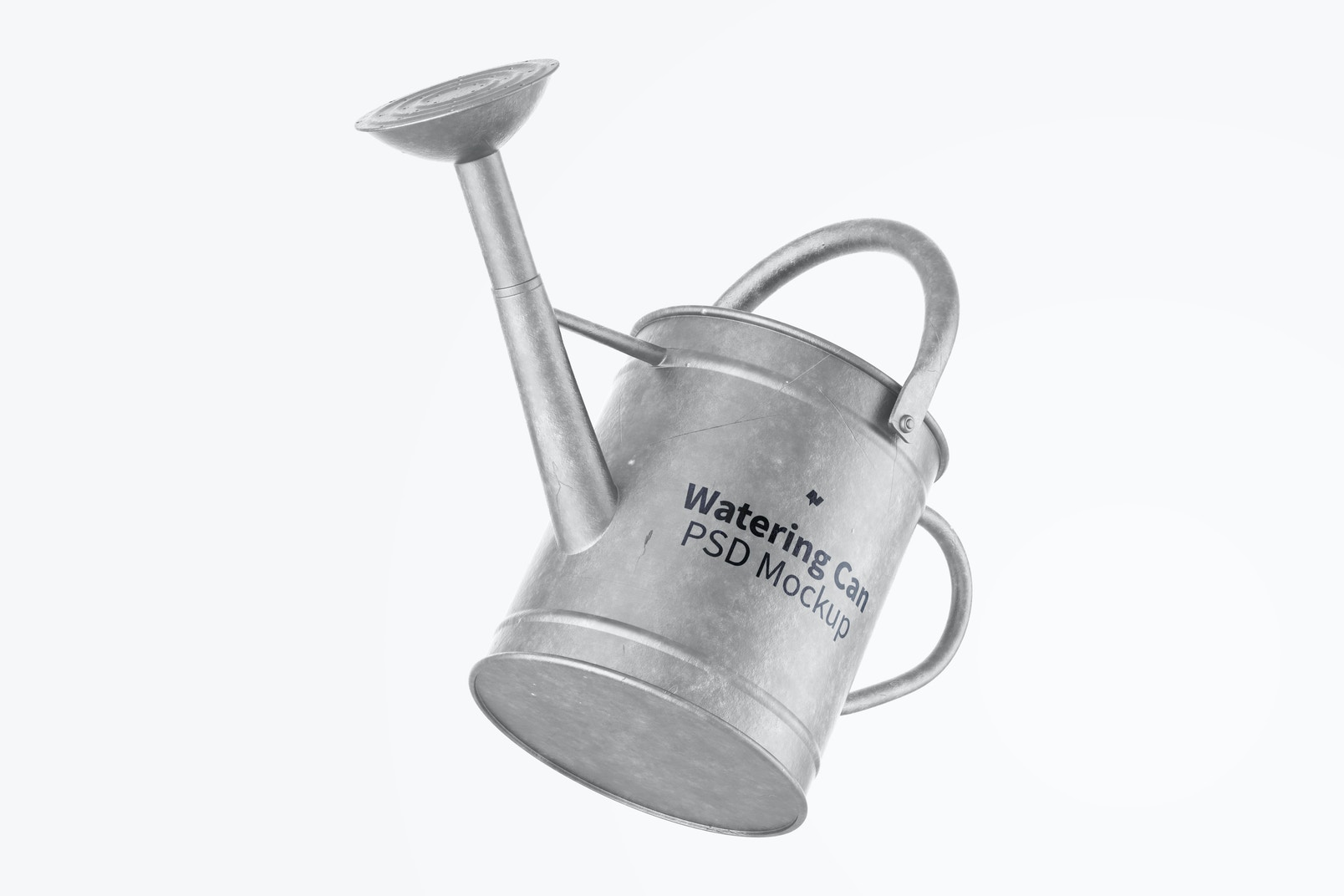 Watering Can Mockup, Floating