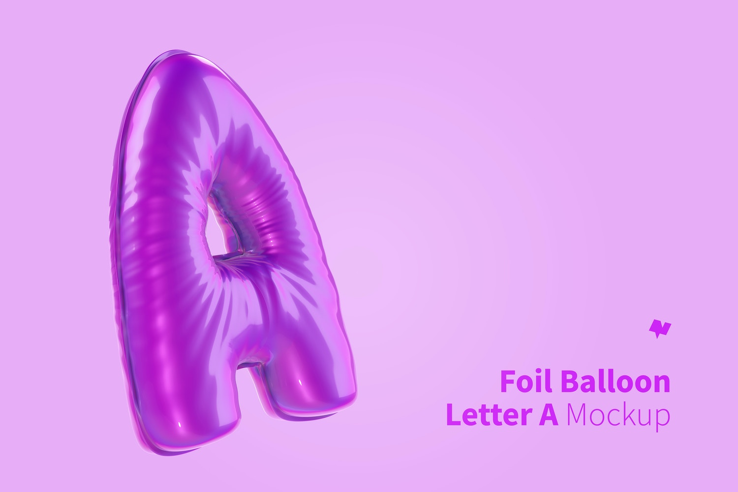 Use any color for the balloon without losing its metallic effect.