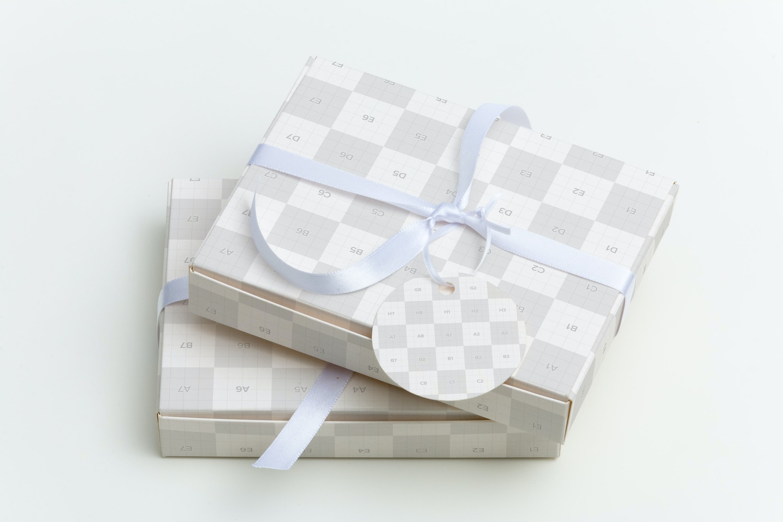 Maqueta para Caja de Dulces 02 por Ktyellow  en Original Mockups