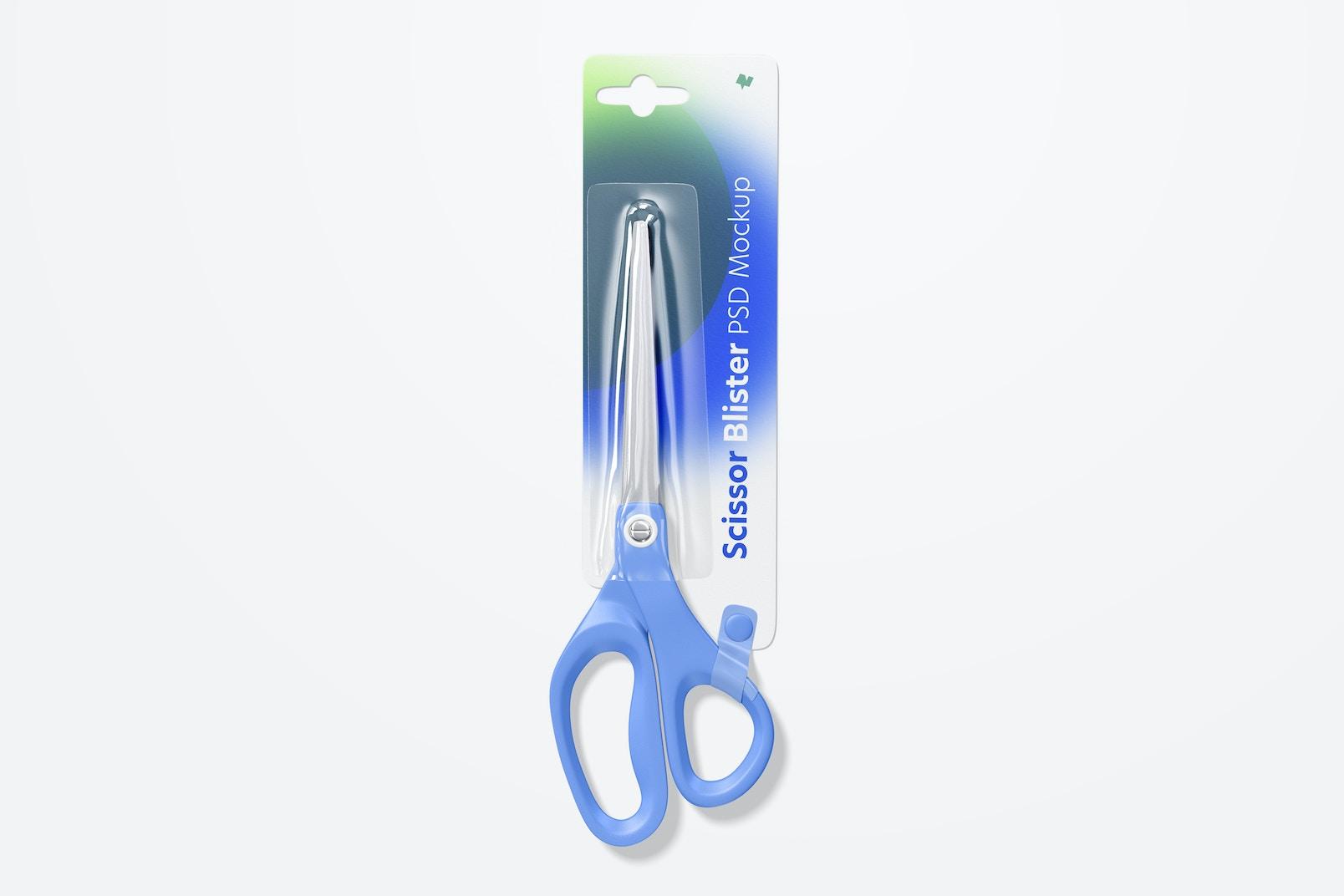 Scissors Blister Mockup