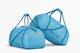 Duffle Bag Mockup, Leaned