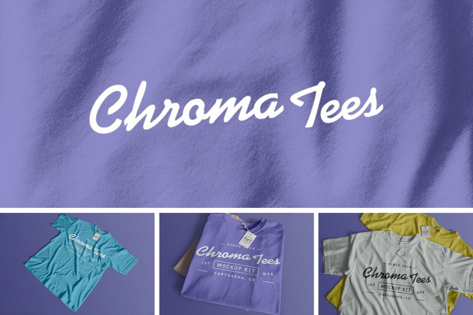 Chromatees Mockup Kit Poster