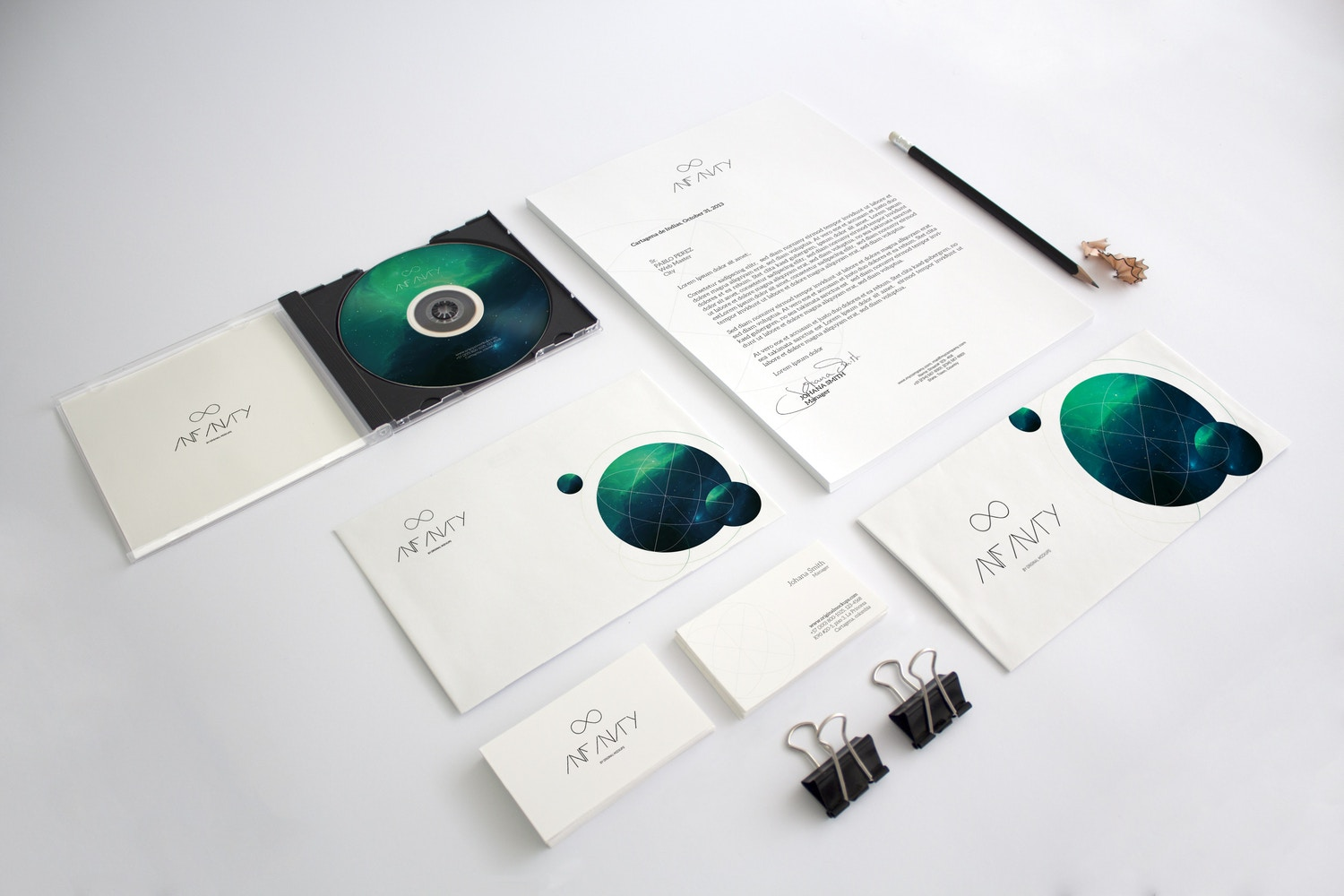 Stationery Mockup 3 by Original Mockups on Original Mockups