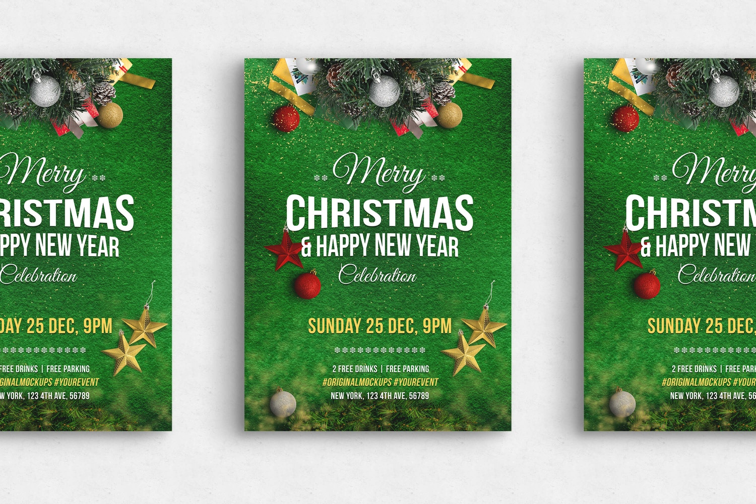 Merry Christmas Flyer - Poster 02