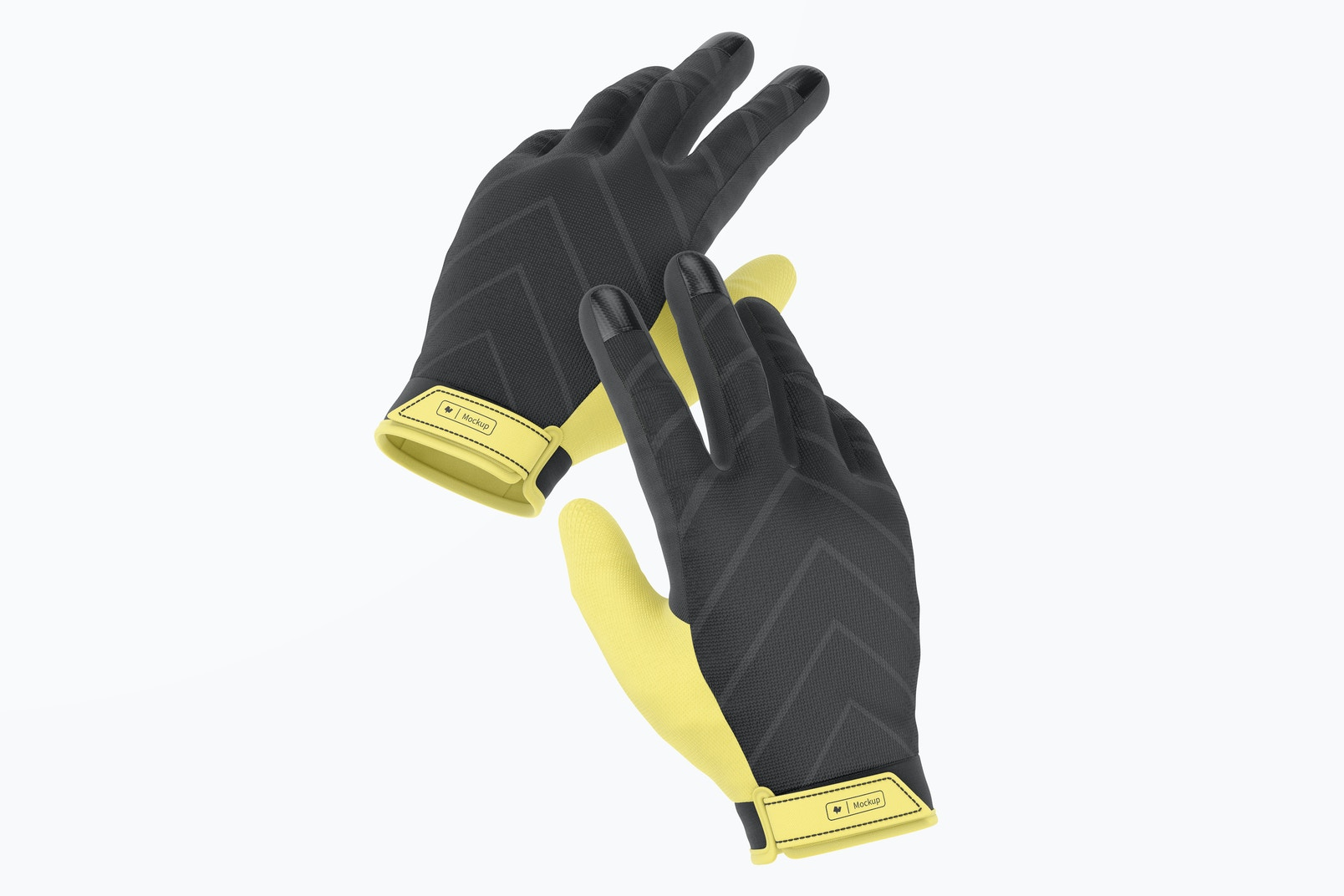 Cycling Gloves Mountain Mockup