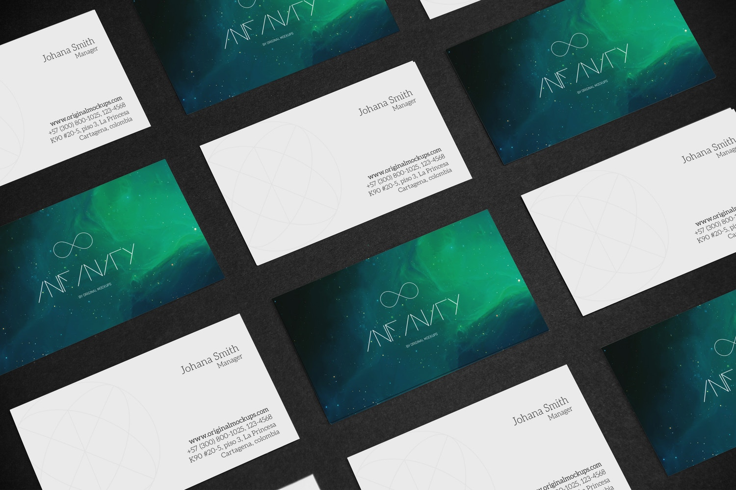 Business Card Mockup 5 by Original Mockups on Original Mockups