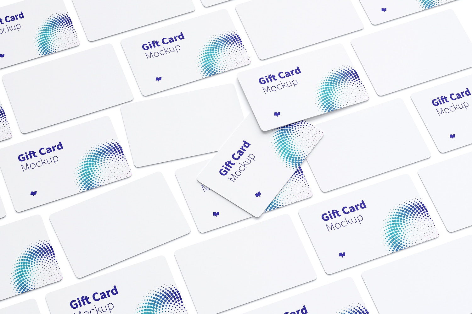 Gift Card Mockup 04 by Original Mockups on Original Mockups