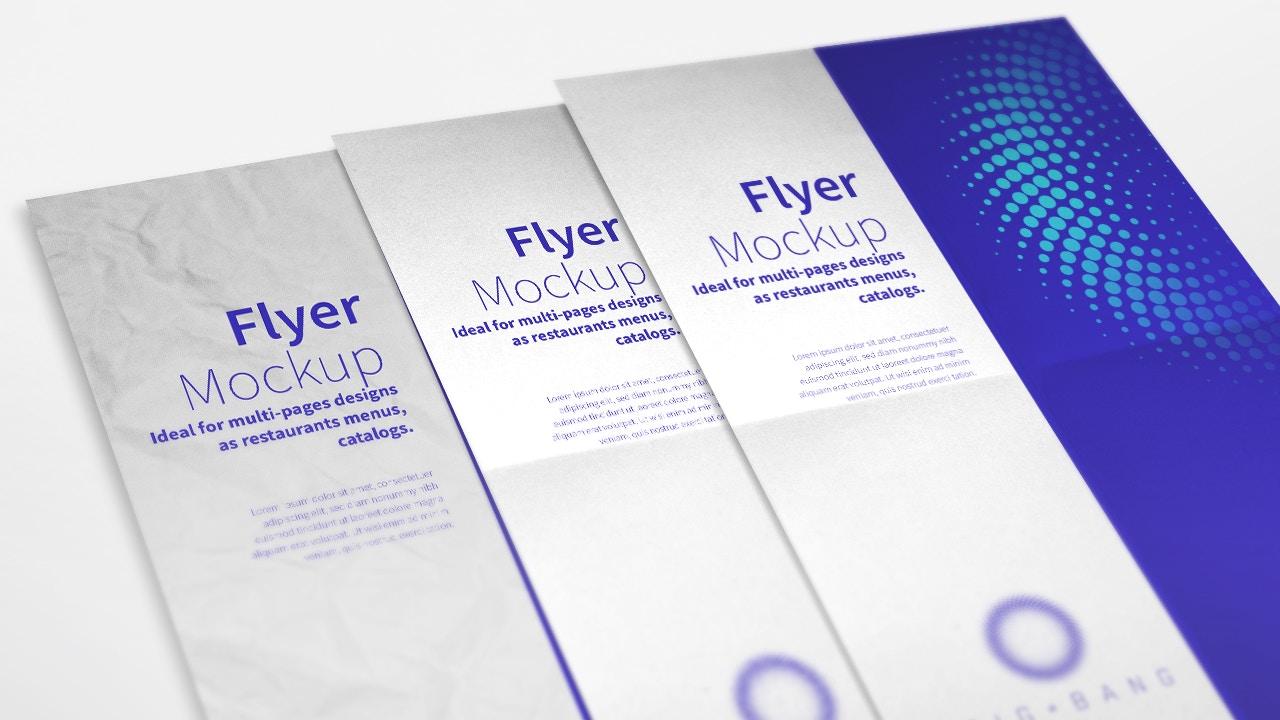 Flyer and Poster Mockup 01 (3) by Original Mockups on Original Mockups
