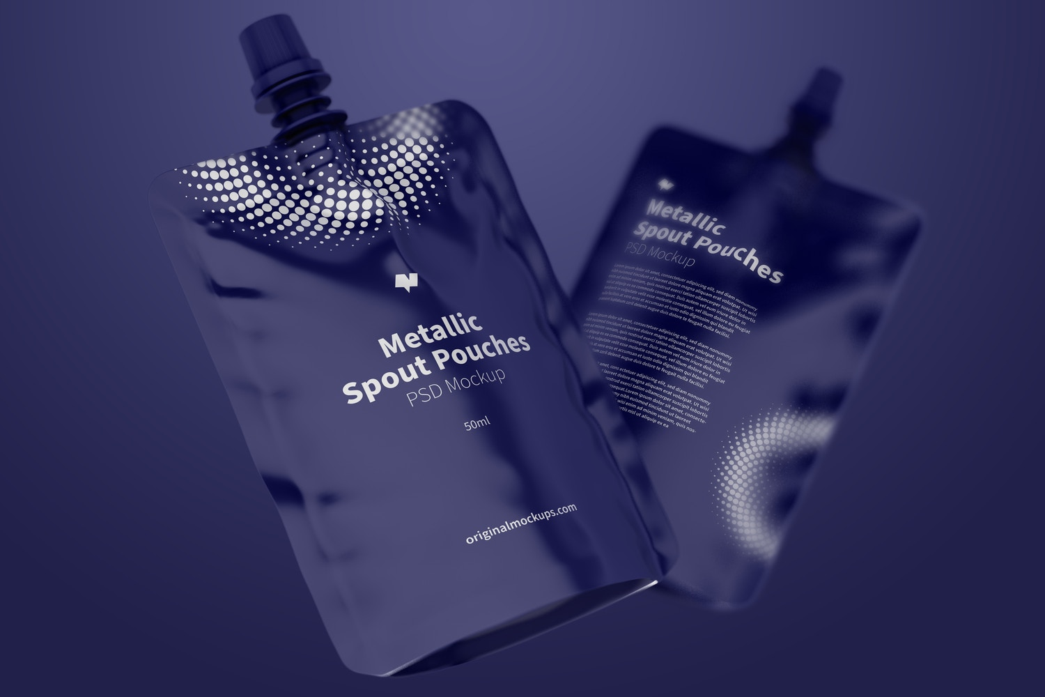 Are you designing a pouch packaging? This scene is for you!