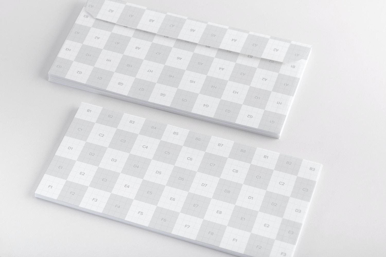 Letterhead Envelope Mockup 02 (2) por Original Mockups en Original Mockups