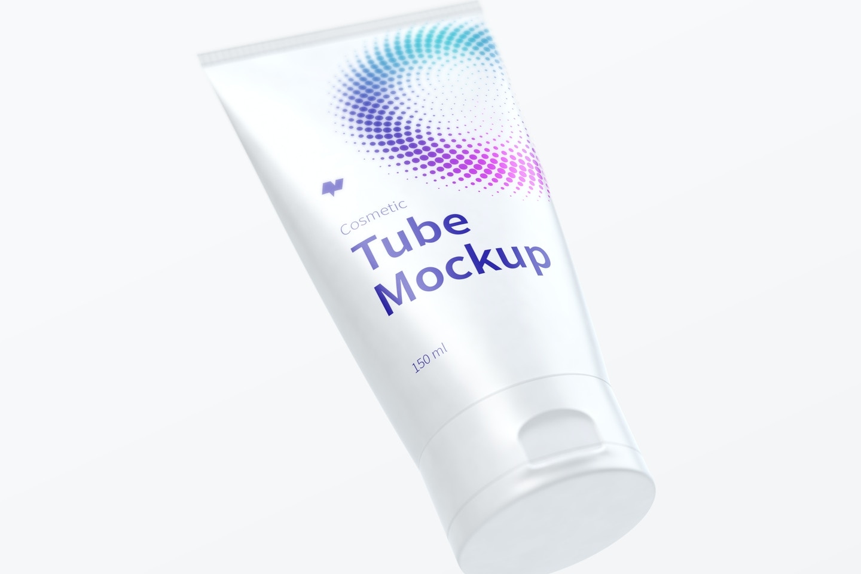150ml Cosmetic Tube Mockup