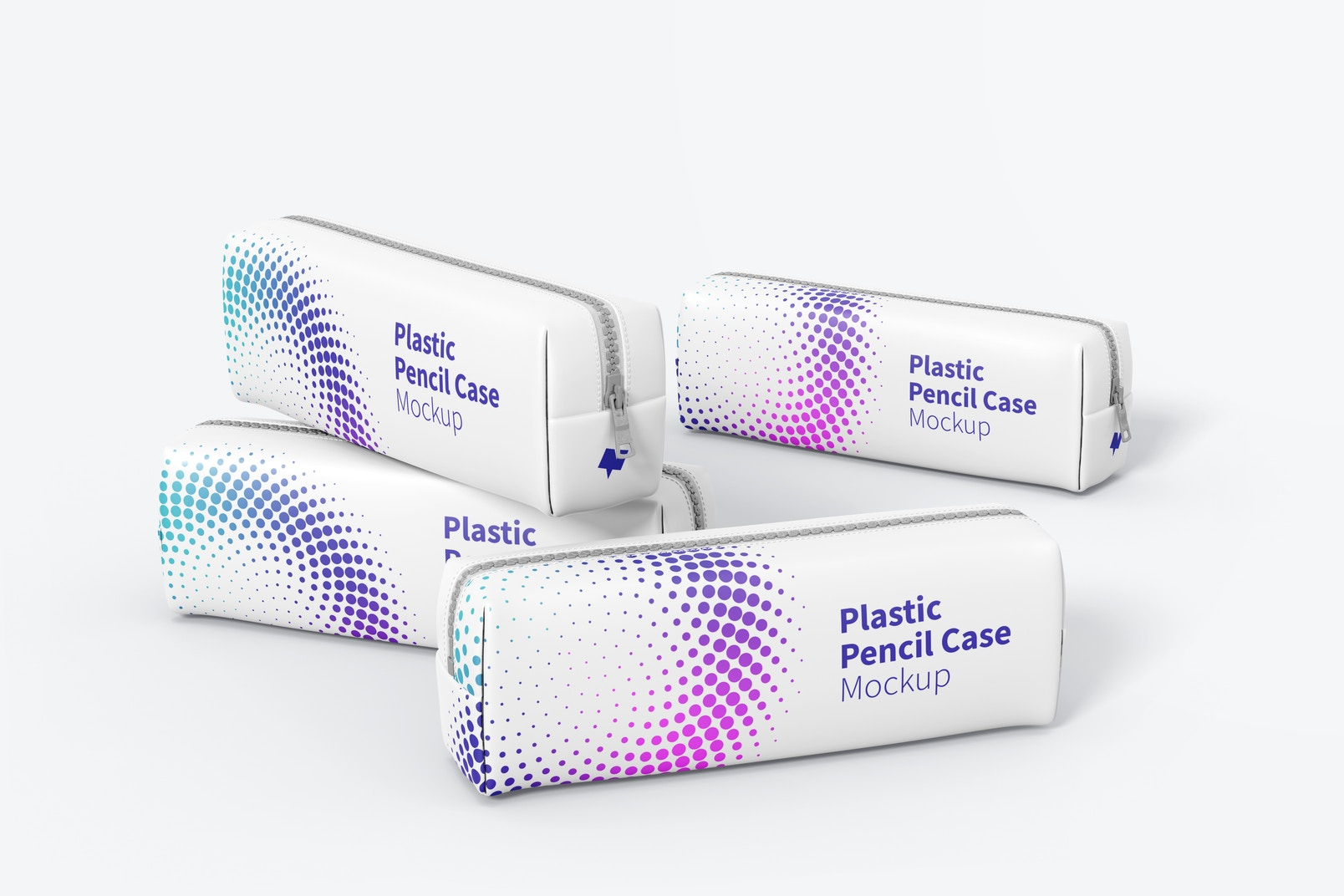 Maqueta de Juego de Estuche Plástico para Lápices