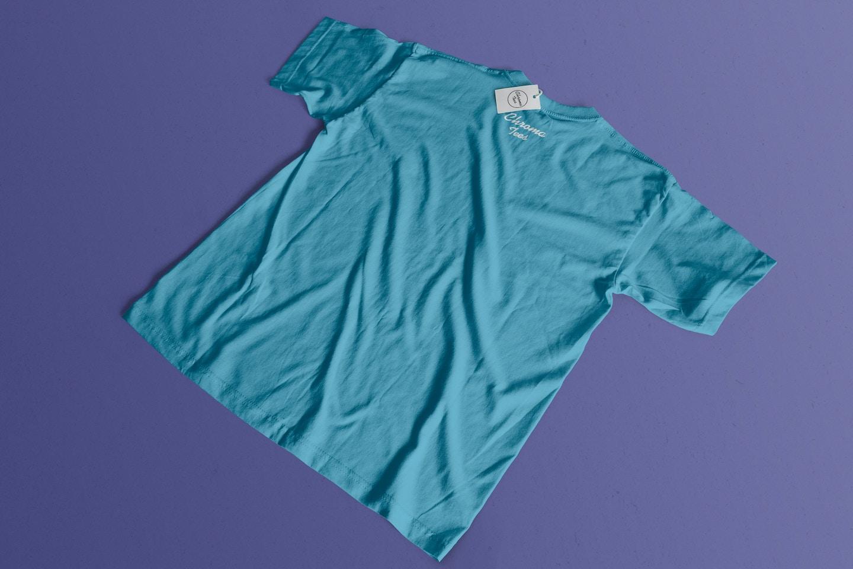 Back T-Shirt Mockup 02