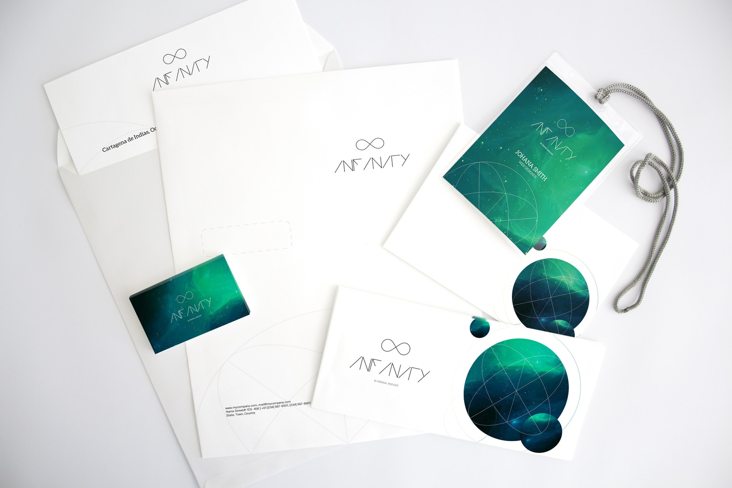 Stationery Mockup 4 by Original Mockups on Original Mockups