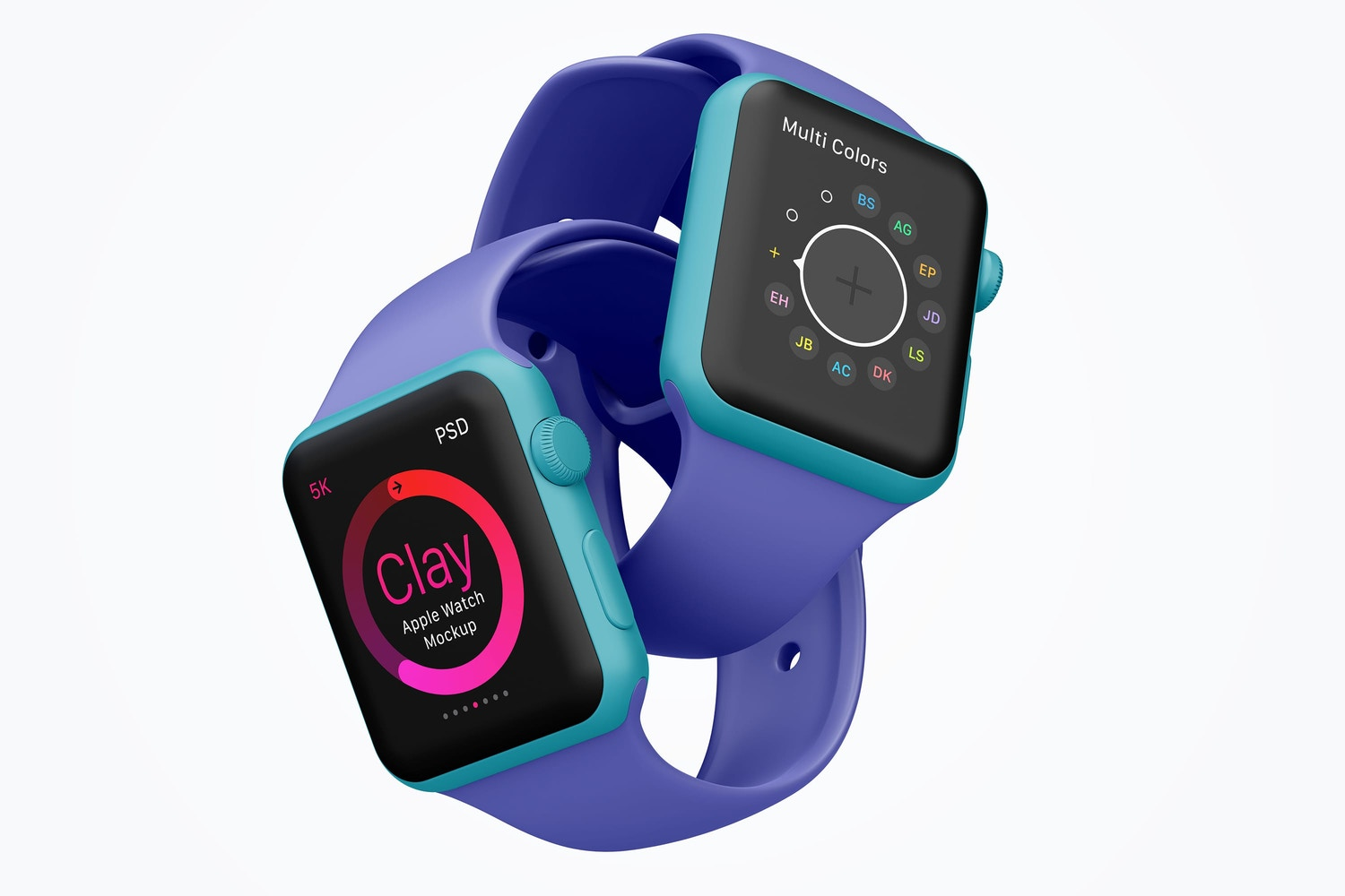 Apply the color you want to any part of the devices including the handles, body, and glass.