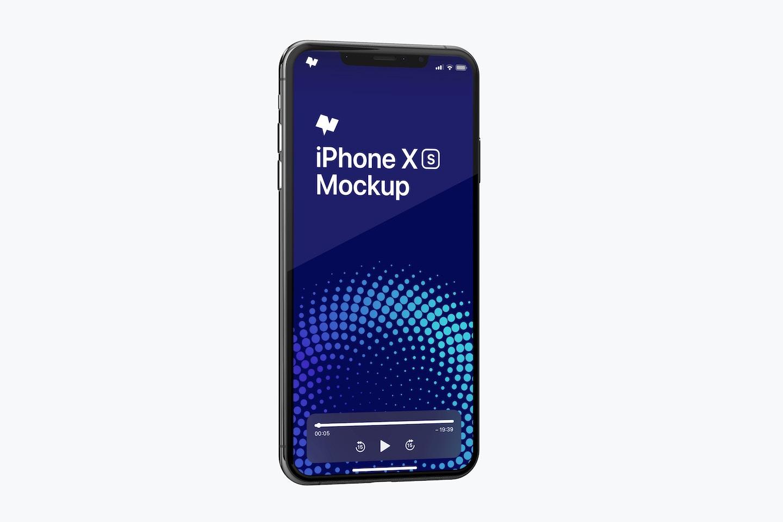 iPhone XS Max Mockup 09