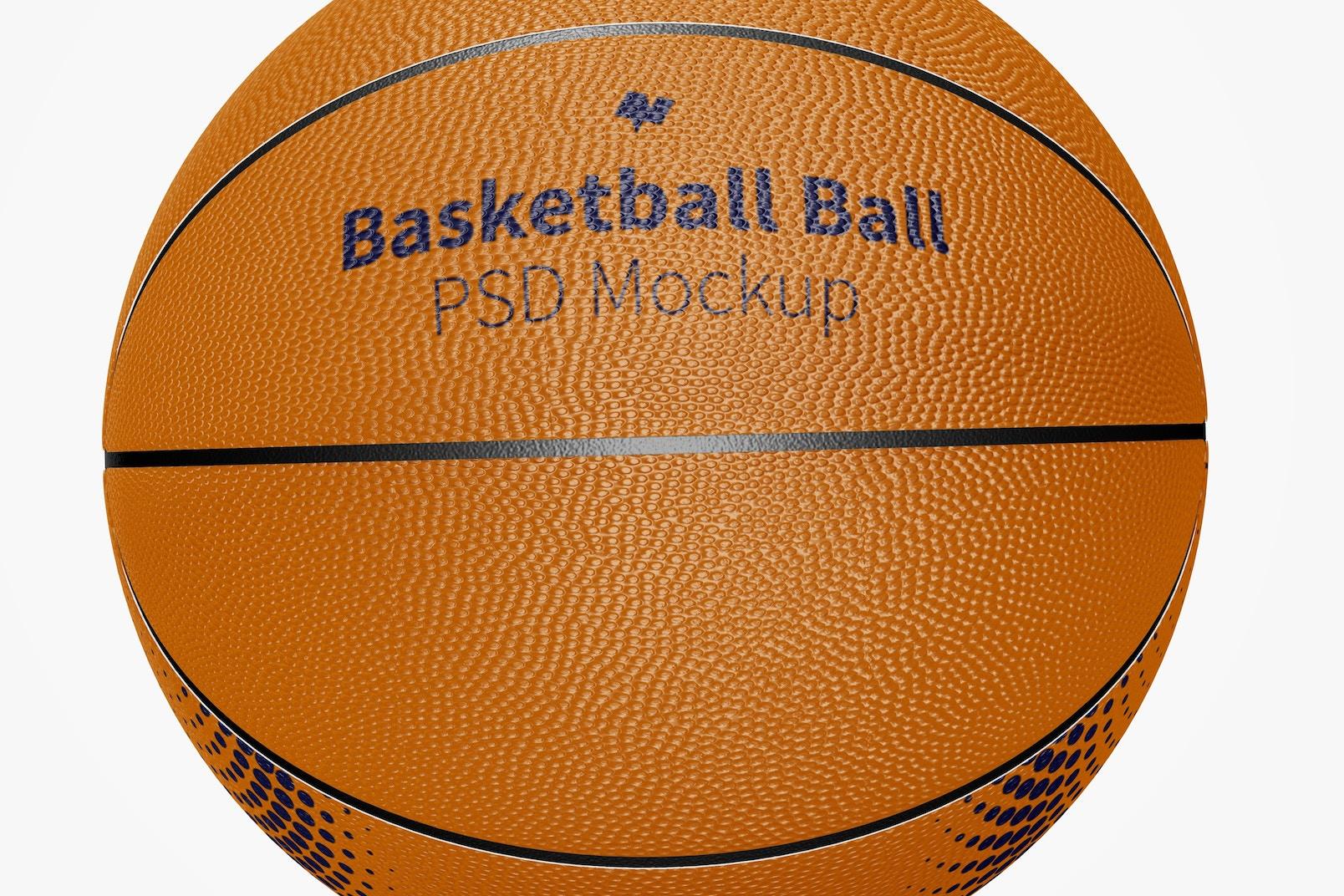 Basketball Balls Mockup, Close Up