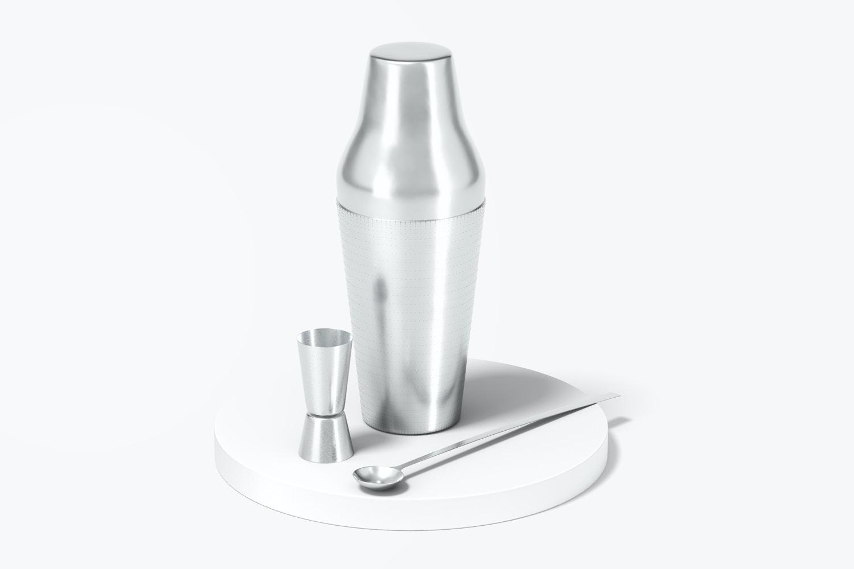 Cocktail Shaker Mockup
