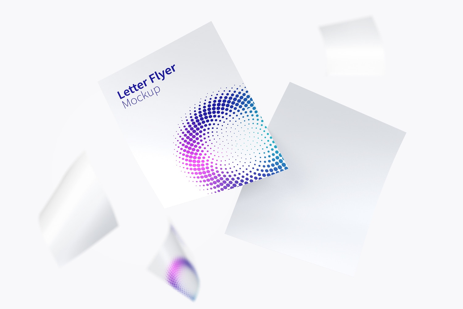 Letter Flyer Mockup 01 by Original Mockups on Original Mockups