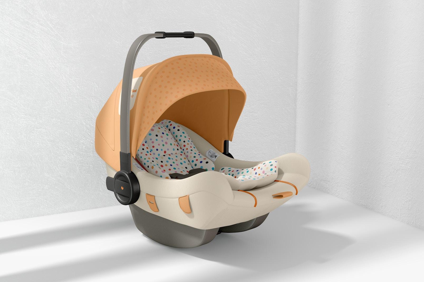 Baby Car Seat Mockup
