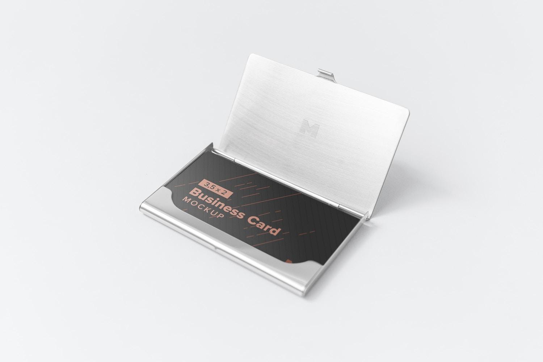 Business Card Mockup 09 by Original Mockups on Original Mockups