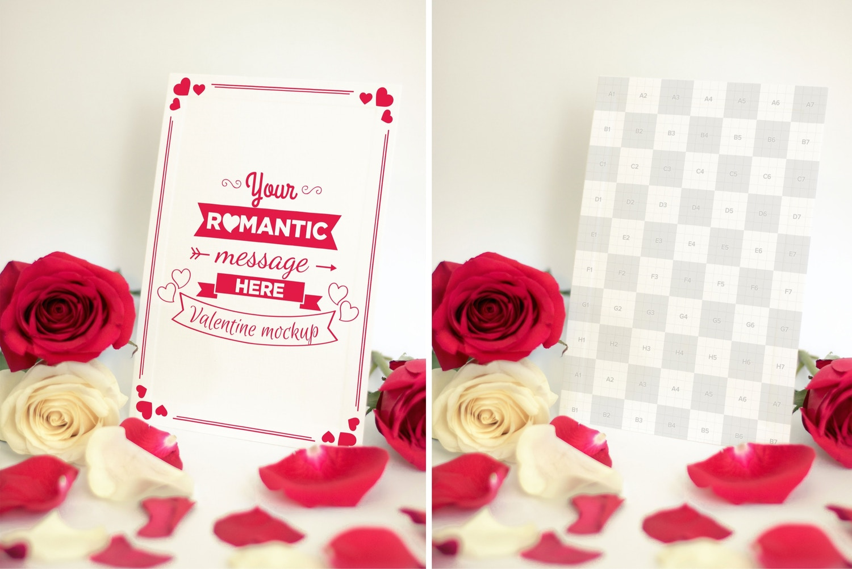 Valentine Card Mockup 06 Original Mockups